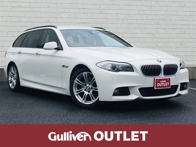 BMW 5シリーズ ツーリング Mスポーツ 純正ナビ ETC HID