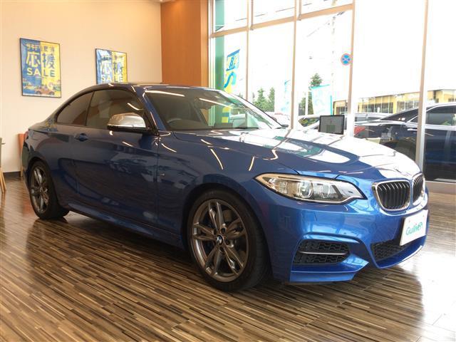 BMW 2シリーズ M235iクーペ 235iクーペ 6速マニュアル 右ハンドル 純正ナビ