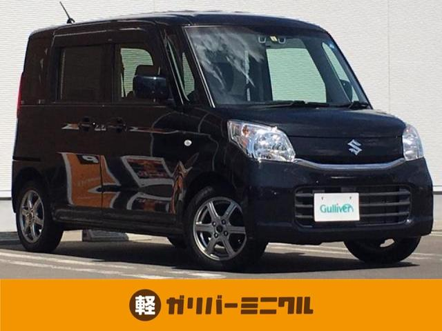 「スズキ」「スペーシア」「コンパクトカー」「秋田県」の中古車