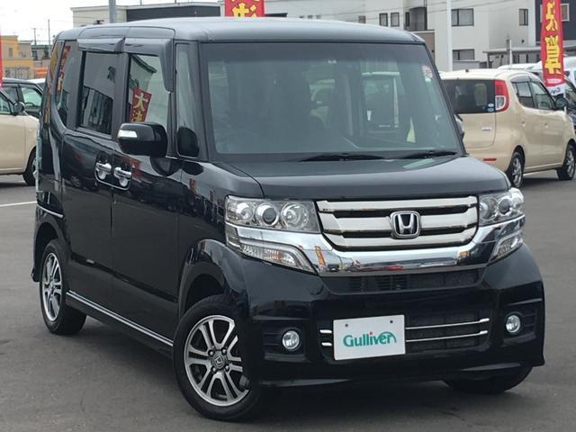ホンダ N-BOXカスタム カスタム G Lパッケージ 4WD ワンオーナー HID