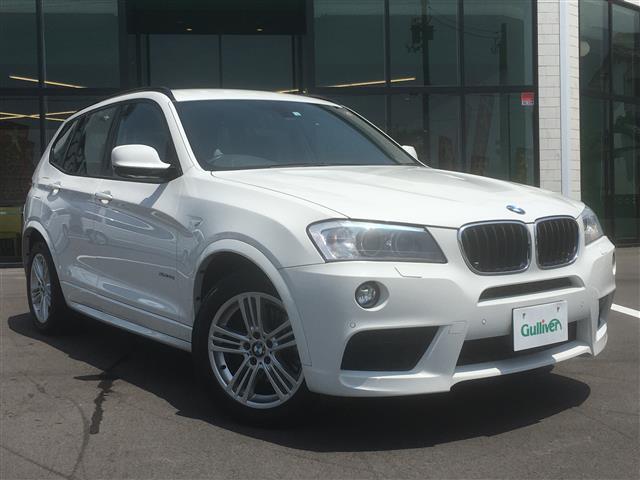 BMW X3 xDrive 20i Mスポーツ 純正メーカーナビ 本革シート 全方位カメラ