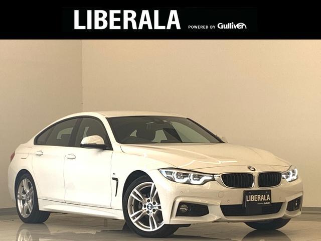 BMW 4シリーズ 420iグランクーペ Mスポーツ 1オーナー ACC LEDライト Pバックドア Pシート シートヒーター 純正HDDナビ 地デジTV バックカメラ アルカンターラシート 純正18インチAW 前後コーナーセンサー パドルシフト ETC