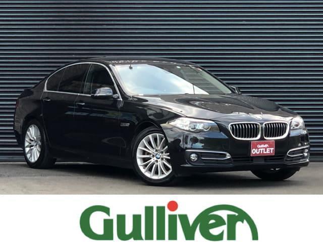 BMW 5シリーズ 523iラグジュアリー 5シリーズ ラグジュアリー ブラックレザーシート インテリジェントセーフティ アダクティブクルーズ クリアランスソナー 純正ナビ オートライト パークディスタンス レーンディパーチャーウォーニング
