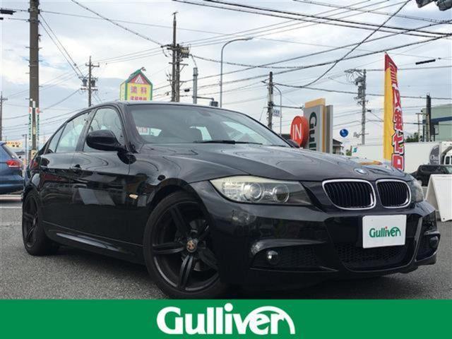 BMW 320i Mスポーツ 純正HDDナビ、レザーシート、シートヒーター、パワーシート、バックカメラ、MTモード付AT、ステアリングスイッチ、純正18インチAW