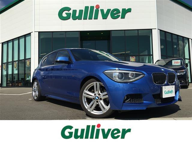 BMW 1シリーズ 116i Mスポーツ 純正ナビ Bluetooth スマートキー プッシュスタート アイドリングストップ HIDヘッドライト オートライト 純正18インチアルミホイール 電動格納ウィンカーミラー SPORTモード ETC