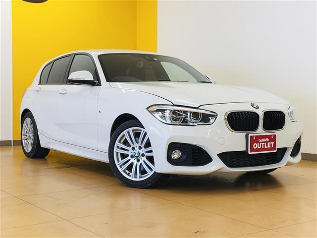 BMW 1シリーズ 118i Mスポーツパッケージ 純正ナビ CD/DVD Bluetooth/AUX接続 バックモニター ETC MTモード付きAT クルーズコントロール 純正AW レーンアシスト 横滑り防止装置 コーナーセンサー