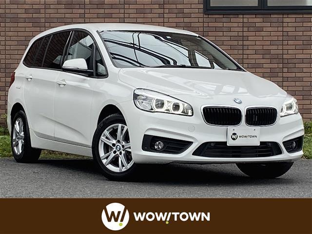 BMW 2シリーズ 218dグランツアラー インテリジェントセーフティ 純正ナビ バックカメラ クリアランスソナー シートヒーター