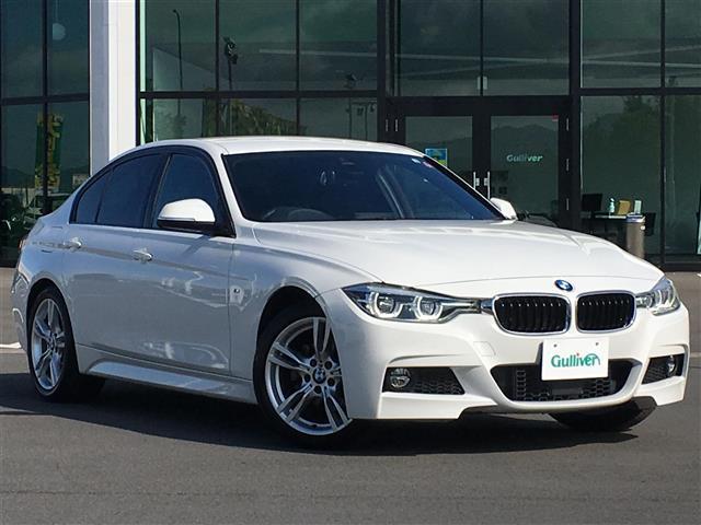 BMW 320d Mスポーツ HDDナビ バックカメラ 衝突軽減ブレーキ 車線変更警告 アクティブクルーズコントロール コーナーセンサー LEDヘッドライト スマートキー ETC Mスポーツ専用18インチアルミホイール
