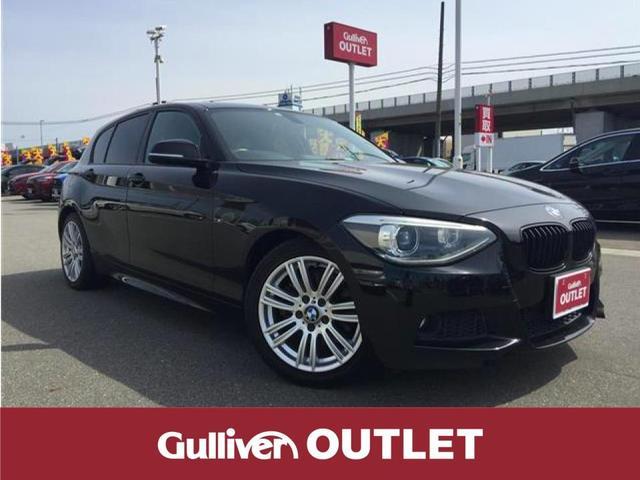 BMW 1シリーズ 120i Mスポーツ 純正ナビ HID スマートキー Pスタート 純正AW