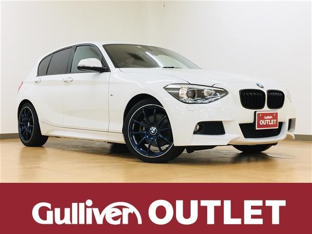 BMW 1シリーズ 116i Mスポーツ 純正HDDナビCD/DVD/Bluetooth バックカメラ プッシュスタート ADVAN18インチAW ドライブレコーダー GPSレーダー スペアキー ETC マフラーカッター