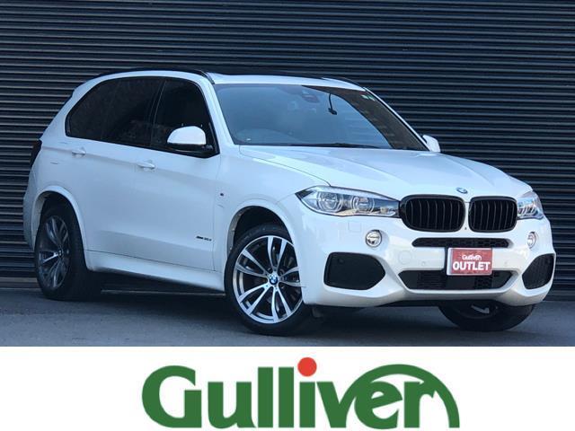 BMW xDrive 35d Mスポーツ サンルーフ ブラウンレザー セレクトパッケージ OP20インチAW ブラックキドニーグリル アダクティブクルーズ レーンキープ 純正LEDライト LEDフォグ オートライト 純正HDDナビ フルセグ