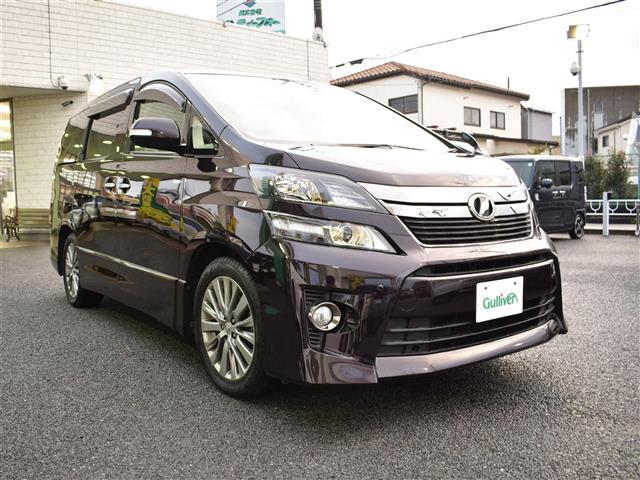 トヨタ  2.4Z ゴールデンアイズII  純正HDD9インチナビ フルセグTV Bluetoothオーディオ対応 純正後席モニター バックカメラ 両側電動スライドドア