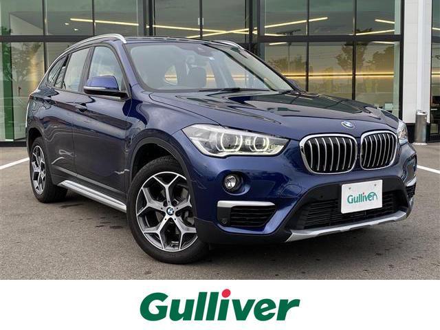 BMW xDrive 18d xライン スマートキー 4WD クルコン バックカメラ 純正メモリーナビ CD Bluetooth ETC ハーフレザーシート シートヒーター パワーバックドア 純正18インチAW LED  軽減ブレーキ