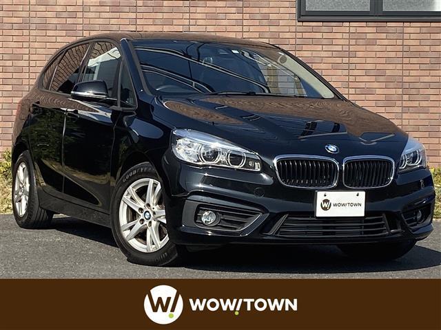 BMW 218dアクティブツアラー 純正HDDナビ バックカメラ パワーバックドア コーナーセンサー 速度リミッター ステアリングスイッチ LEDヘッドライト アイドリングストップ 電動格納ミラー スマートキー ETC