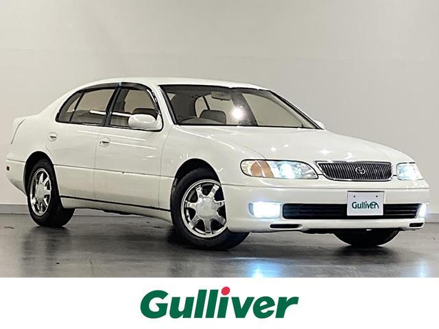 トヨタ 3.0V /社外HDDナビ/CD/AM/FM/ETC/TOMS製アドヴォクス車高調/トランクスポイラー/クルーズコントロール/レザーシート/パワーシート/純正16インチAW/HIDライト/フォグランプ