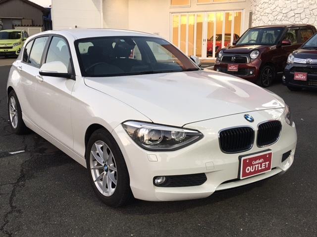 BMW 116i 純正CD/AUX/ETC/プッシュスタート/スマートキー/アイドリングストップ/横滑り防止装置/HIDヘッドライト/純16AW