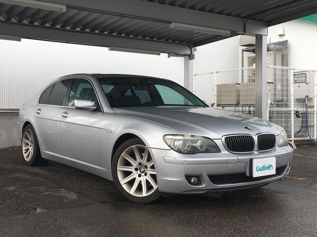 BMW 7シリーズ 750i 純正ナビ 黒革エアシート サンルーフ ETC