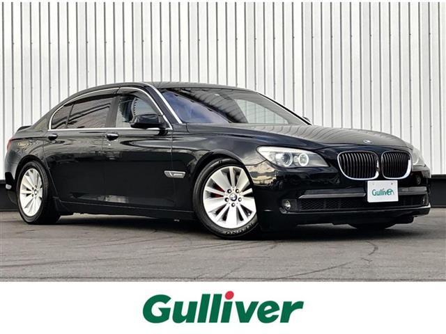 BMW 7シリーズ 750Li /サンルーフ/社外HDDナビ/バックカメラ/ルームミラー内蔵型ETC/全席パワーシート/全席シートヒーター/エアシート/全ドアイージークローズ/レザーシート/キセノンヘッドライト/純正18インチアルミ