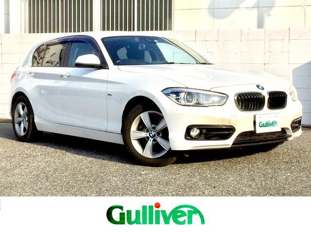BMW 1シリーズ 118i スポーツ 1オーナー/純正HDDナビ/Bluetooth/音楽録音/バックカメラ/衝突軽減ブレーキ/レーンキープ/コーナーセンサー/LEDヘッドライト/オートクルーズ /プッシュスタート/スマートキー/ETC
