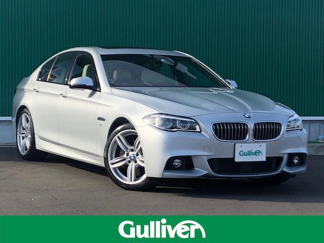 BMW 5シリーズ 5シリーズ Mスポーツ 純正ナビ・TV バックカメラ サンルーフ 純正19インチアルミ ハーマンカードンスピーカー LEDヘッドライト パワーシート シートヒーター ETC
