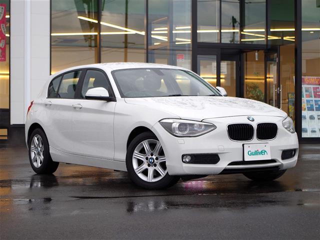 BMW 116i CD ETC HID スマートキー エンジンプッシュ式 純正16インチAW 電動格納ミラー 革巻ステアリング ウィンカーミラー 左右バニティミラー ガリバー検査済