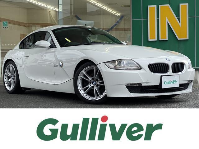 BMW Z4 クーペ3.0si 社外HDDナビ/CD/DVD/MSV/バックカメラ/ETC/クルーズコントロール/パドルシフト/赤レザーシート/シートヒーター/運転席/助手席パワーシート/純正18インチアルミホイール/コーナーセンサ