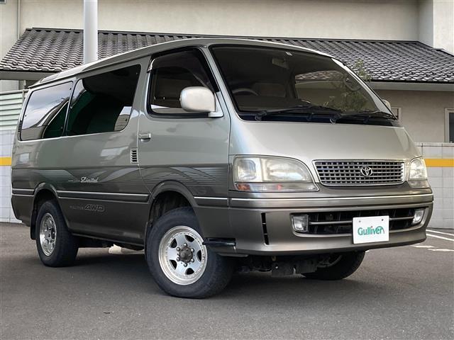 トヨタ スーパーカスタムリミテッド 4WD 軽油 ターボ キーレスエントリー