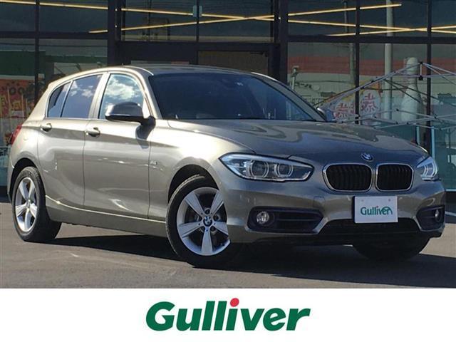 BMW 1シリーズ 1シリーズ スポーツ 衝突軽減ブレーキ/メーカーナビ/CD/DVD/USB/AUX/AM/FM/MSV/Bカメラ/クルーズコントロール/ミラーETC/オートLEDヘッドライト/純正16AW/プッシュスタート/スマートキー