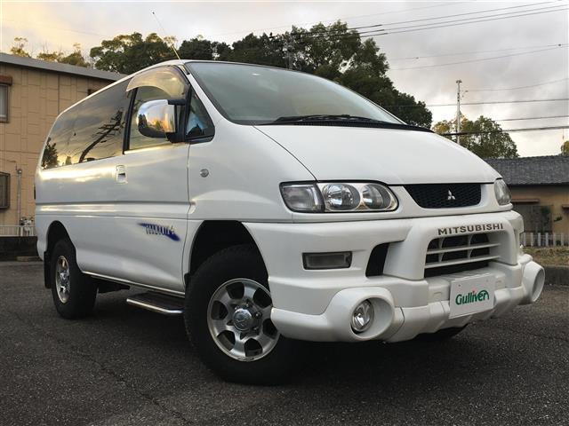 三菱 デリカスペースギア シャモニー ・4WD・カロッツェリアオーディオ・ETC・純正アルミホイール