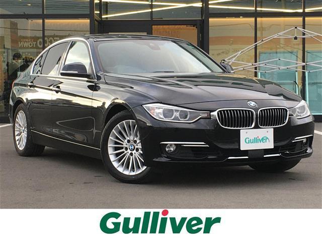 BMW 320i 先進安全装置/メーカーナビ/CD/DVD/USB/AUX/MSV/BT/AM/FM/Bカメラ/レザーシート/前席シートヒーター/D席メモリーシート/社外レーダー/ミラー 一体型ETC