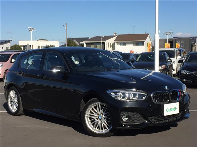BMW 118d Mスポーツ 純正メーカーOPナビ バックカメラ パーキングアシスト インテリジェントセーフティ クルーズコントロール レーンキープアシスト アイドリングストップ クリアランスソナー LIMスイッチ LEDライト