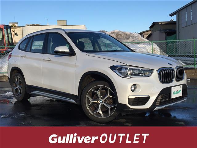 BMW xDrive 18d xライン 衝突被害軽減ブレーキ/アクティブクルーズコントロール/純正HDDナビ/Bカメラ/Bluetooth機能/クリアランスソナー/パワーバックドア/ハーフレザーシート/シートヒーター/ミラー一体型ETC