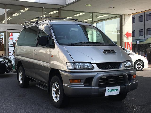 三菱 エクシード 4WD/関西仕入/軽油/ルーフキャリア