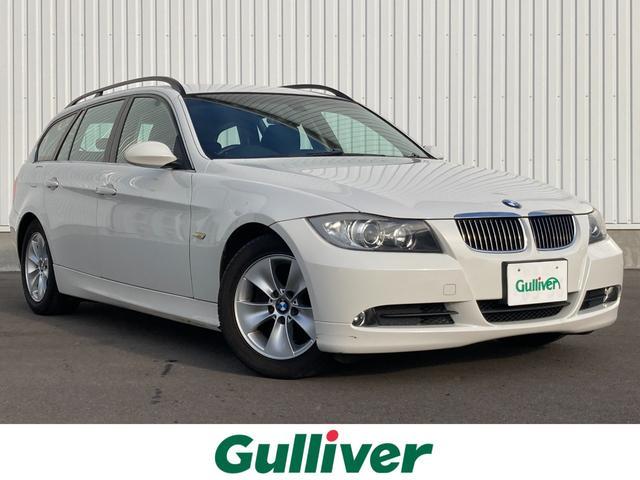 BMW 3シリーズ 325iツーリング ハイラインパッケージ メーカーHDDナビ/ルームミラー一体型ETC/黒本革シート/前席パワーシート/純正AW/スマートキー/プッシュスタート/キセノンライト/ABS/W&サイド&カーテンエアバック/木目調パネル