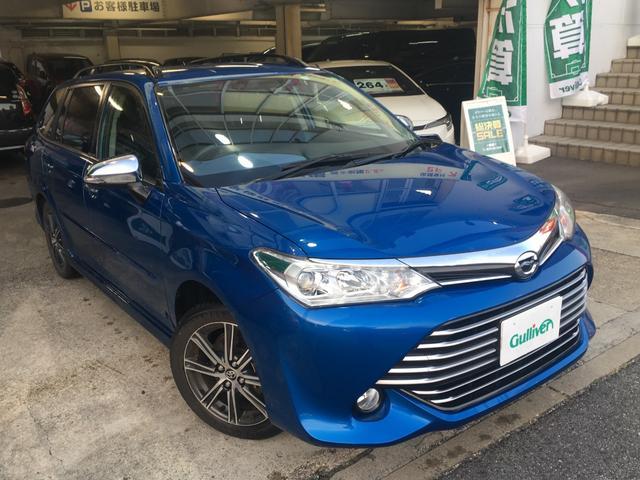 トヨタ 1.5G エアロツアラー ワンオーナー/純正SDナビ/Bluetooth/地デジTV/Toyota Safety Sense/バックカメラ/純正AW/ルーフレール/プリクラッシュ/レーンキープ/スマートキー