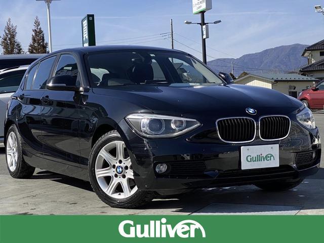 BMW 116i ・純正HDDナビ・HIDヘッドライト・フォグライト/リアフォグ・純正16AW・Aストップ