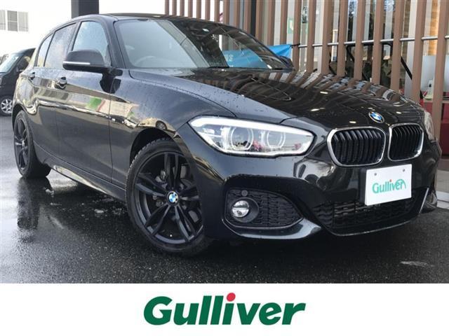 BMW 1シリーズ 118d Mスポーツ Mスポーツ メーカーナビ BLUETOOTH バックカメラ クルーズコントロール コーナーセンサー アイドリングストップ 純正17インチAW 純正17インチAW車載 ビルトインETC LEDライト