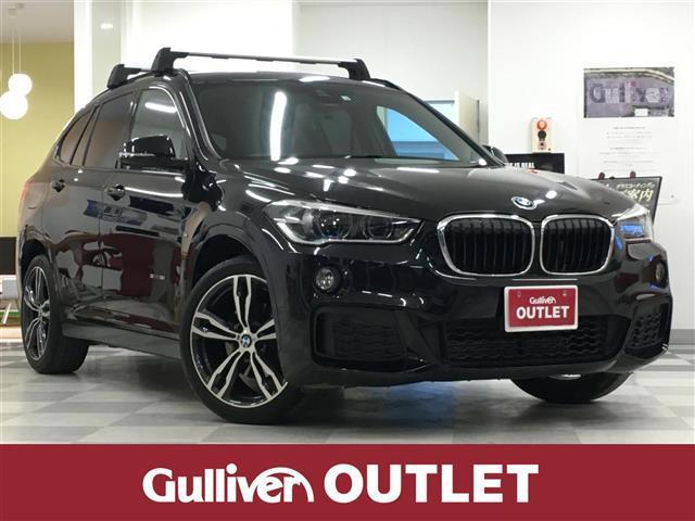 BMW sDrive 18i Mスポーツ 純正HDDナビ・バックカメラ・衝突軽減ブレーキ・レーンキープアシスト・ルーフレール・黒革シート・シートヒーター・ミラーETC・LEDライト・パワーバックドア・純正19インチアルミ