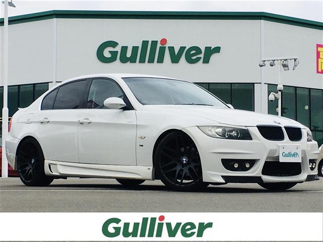 BMW 323i ENERGY MORTOR SPORTS19インチアルミホイール/エアロキット/社外ナビ/純正オーディオ/CD/オートエアコン/HID/パワーウィンドウ/集中ドアロック/前席パワーシート