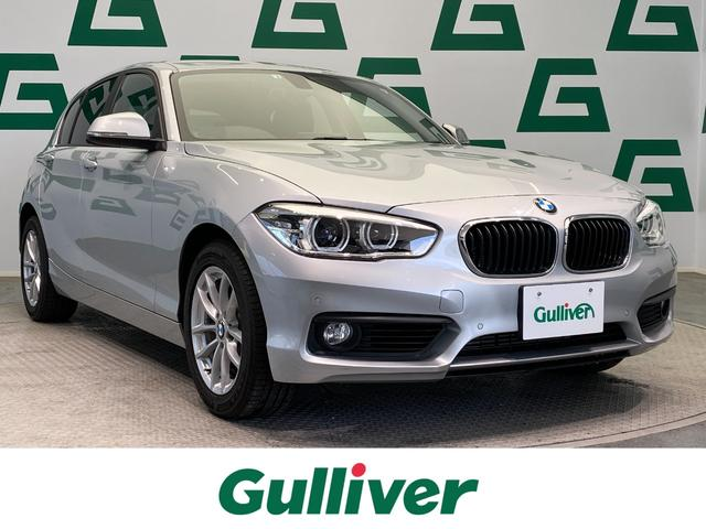 BMW 118i 1オーナー HDDナビ AM FM Bカメラ 社外ドラレコ Pスタート アイドリングストップ 電格ミラー 純正フロアマット LEDヘッドライト オートライト ステアリングスイッチ ETC 取説 保証書