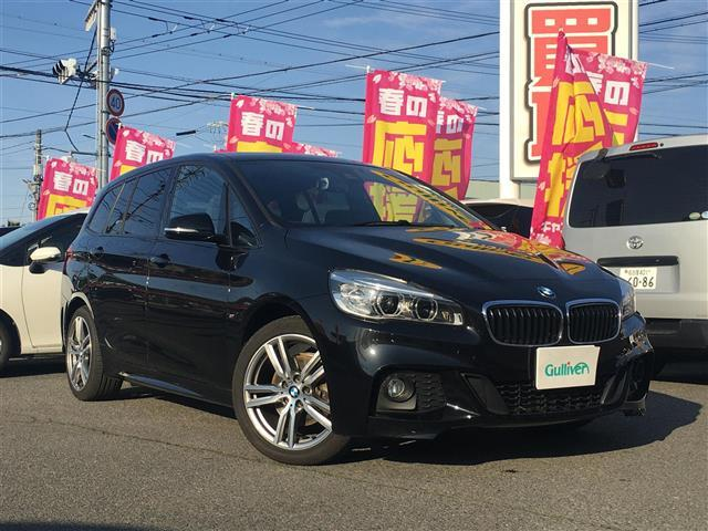 BMW 2シリーズ 218dグランツアラー Mスポーツ 純正HDDナビ Bカメラ ETC Pシート 7人乗り
