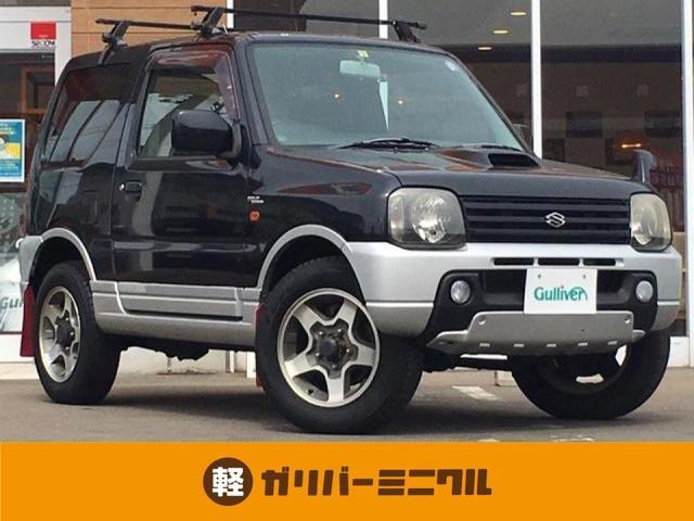 スズキ ジムニー ワイルドウインド 4WD/オートマ車/純正CDオーディオ/電動格納ミラー/運転席シートヒーター/純正フロアマット/ドアバイザー