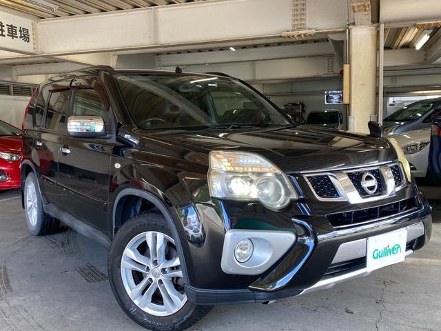 日産 20X エクストリーマーX 4WD/サンルーフ/社外SDナビTV/CD/Bluetooth/バックカメラ/シートヒーター/カプロンシート/ETC/インテリジェントキー