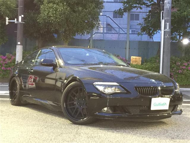 BMW 630i 純正HDDナビ 本革パワーシート