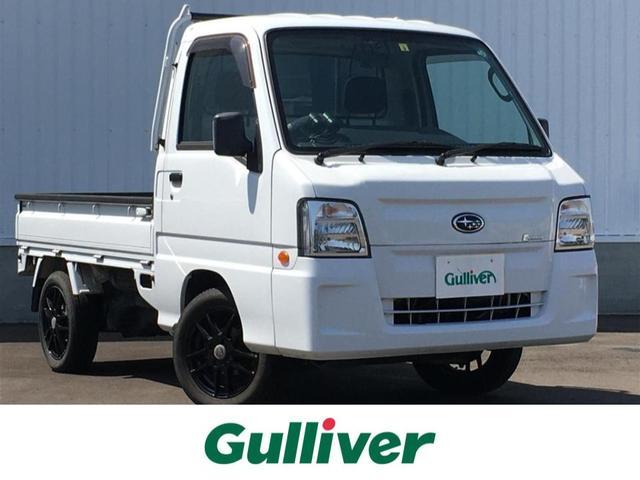 スバル ベースグレード スーパーチャージャー/4WD/CD/三方開/ドラレコ/GPS/追加メーター(タコメーター/ブーストメーター)社外14インチAW/パワステ/PW/エアコン/フロアマット/ドアバイザー/荷台ゴムマット