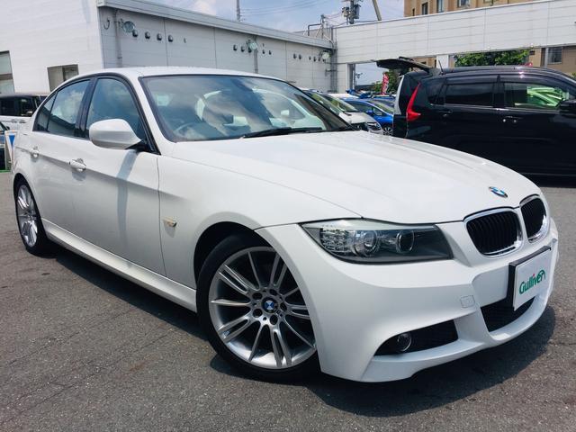 BMW 3シリーズ 3シリーズ メーカーナビ バックカメラ 6速MT Mスポーツ専用シート Mスポーツ専用アルミホイール パワーシート カーボン風トランクスポイラー HIDヘッドライト ビルトインETC スマートキー