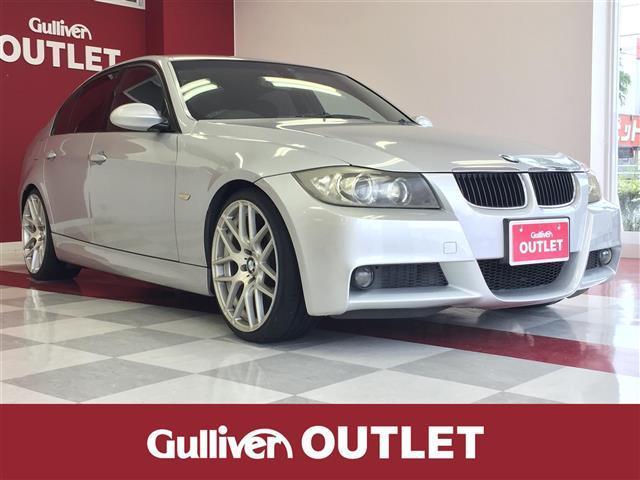 BMW 3シリーズ  社外ナビ(CD/DVD/AUX/ワンセグTV)・スマートキー・プッシュスタート・オートライト・フォグランプ・電格ミラー・ETC・パワーシート・ドラレコ・カーテンエアバッグ・MTモード付AT