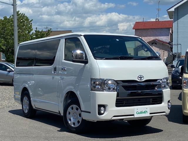 トヨタ スーパーGL ダークプライムII 軽油 4WD 寒冷地仕様 両側電動ドア LEDヘッド エンジンプッシュ