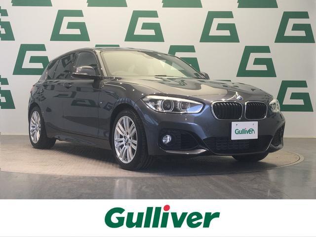 BMW 1シリーズ 118i 純正HDDナビ インテリジェントセーフティ プラスパッケージ パーキングサポートパッケージ ドライビングアシストパッケージ バックカメラ LEDヘッドライト OP17インチアルミ リモコンキー