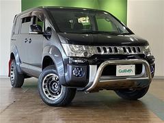 デリカD:5G パワーパッケージ 4WD ワンオーナー 寒冷地仕様 HDDナビ ボディリフトアップ エンスタ 両側パワスラ パワーバックドア スマートキー ベッドキット積込 クルコン 2019年製社外16インチAW付A/T夏タイヤ